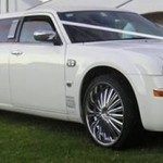 Chrysler 300 Stretch Limo hire limousines wedding